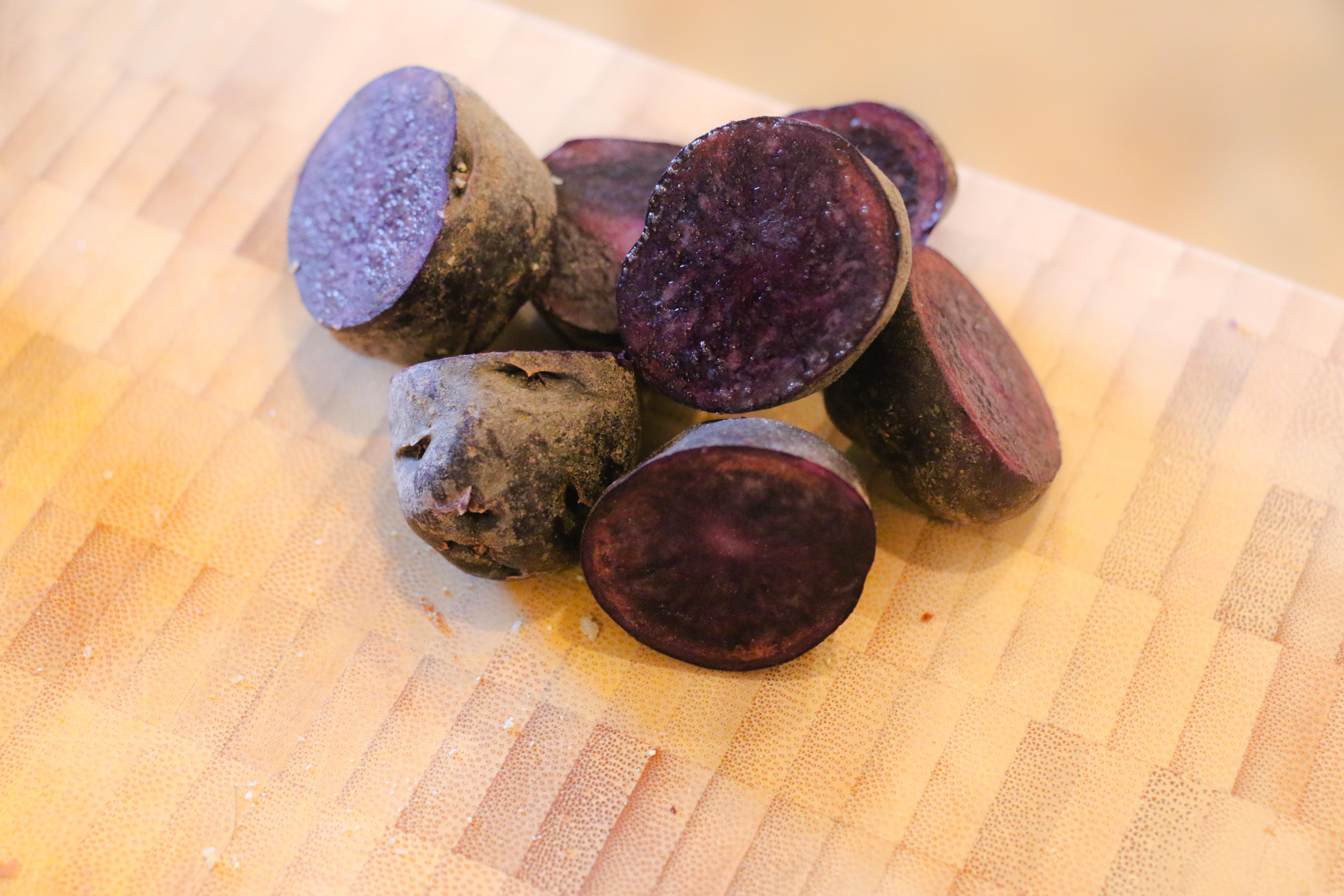 Blue apron kale - Multi Eyed Many Tubered Flying Purple Potato People Eater