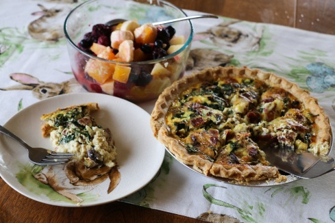 a healthier spin on Easter brunch, but still with bacon!