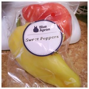 Blue apron sweet pepper